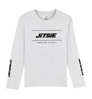 Tshirt long sleeves Jitsie POLYGON Grey