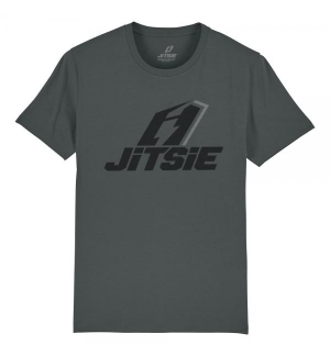 Tshirt Jitsie STACKED Anthracite