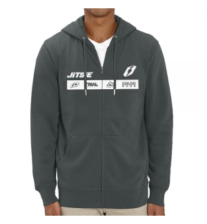 Hoodie with zip Jitsie Factory