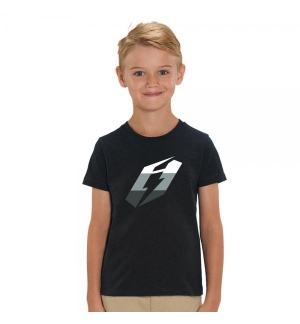 Tshirt Jitsie ICON Kid Black