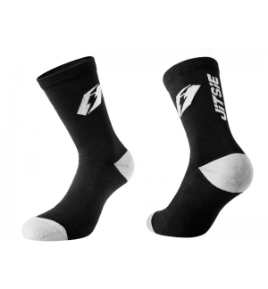 Chaussettes Jitsie Airtime Noires-blanches