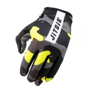 Gloves Jitsie G3 Core Camo Grey-Red