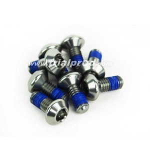 Set of 8 aluminum bolts for Hashtagg single cage pedals