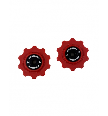 set of 2 plastic wheels for Clean chain tensioners 10T